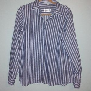 Pendleton Shirt, Striped Shaped Fit Wrinkle Free